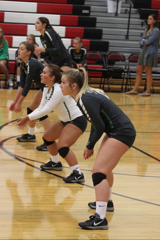 Lady Eagles Volleyball Traveled to El Dorado Springs